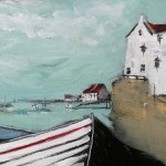 Coble and Cottages, Staithes by Rob Shaw