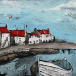 Cowbar Cottages with Double Ender by Rob Shaw