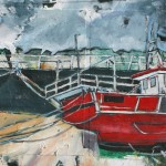 Harbour Moorings, Staithes by Rob Shaw