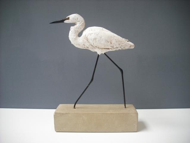 Striding Egret by Gail Dooley