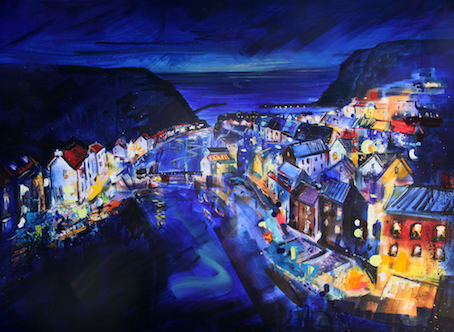 Staithes Evening by Richard Barnes
