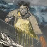 A Hard-won Catch by Ian Burdall