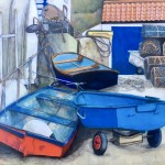 A Messy Corner in Staithes by Lucy Wilson