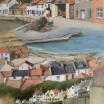 A Walk Right Round, Staithes by Lucy Wilson