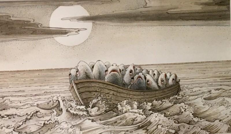 All at Sea by Paul Czainski