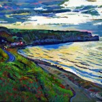 Another Sandsend Sunset by Mark Sofilas