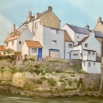 Beck Wall, Staithes by Lucy Wilson