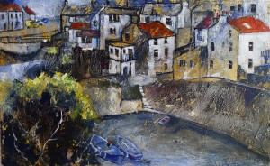 Staithes Beck and Yellow Van
