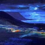 Blue moon by Richard Barnes