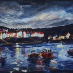 Boats at Staithes by Richard Barnes