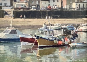 Boats in the Harbour, Staithes