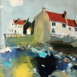 Bright and Breezy, Staithes by Rob Shaw