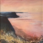 The Cleveland Way: Looking Back at Staithes by Chantal Barnes