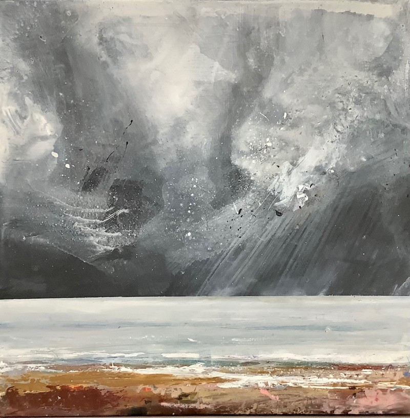 Staithes Sea and Sky by Chantal Barnes