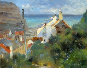 Church Street Cottages, Staithes by David Howell