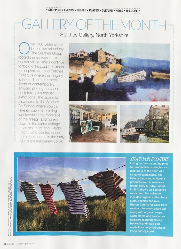 Coast Magazine - Gallery of the Month