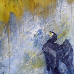 Cormorant Drying Out by Sue Nichol