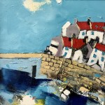 Cottages by the Bridge, Staithes by Rob Shaw