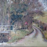 Crossroads at West Barnby by David Curtis RSMA ROI