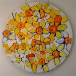 Daffodil Wreath II by Ian Burke