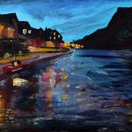 Staithes Twilight by Richard Barnes