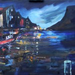Dusk in Staithes by Richard Barnes