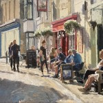Early evening at The Royal George, Staithes by Lynton Parmar Hemsley