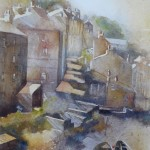 Evening Staithes by Anne Ware