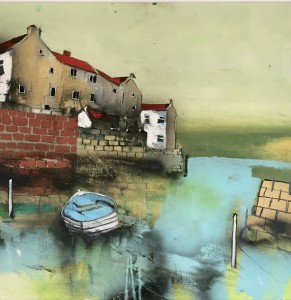 Ferry Boat by Beck Wall, Staithes