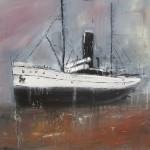East Coast Shipwrecks: Ficara - grounded off Redcar by Ian Burdall