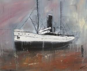 East Coast Shipwrecks: Ficara - grounded off Redcar