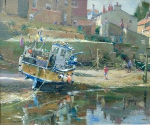 Fishing Boat in the Beck