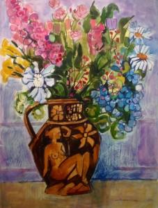 Glaisdale Flowers and Harvest Jug I