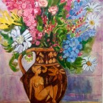 Glaisdale Flowers and Harvest Jug II by Ian Burke