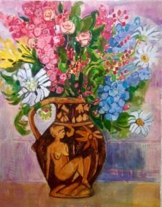 Glaisdale Flowers and Harvest Jug II
