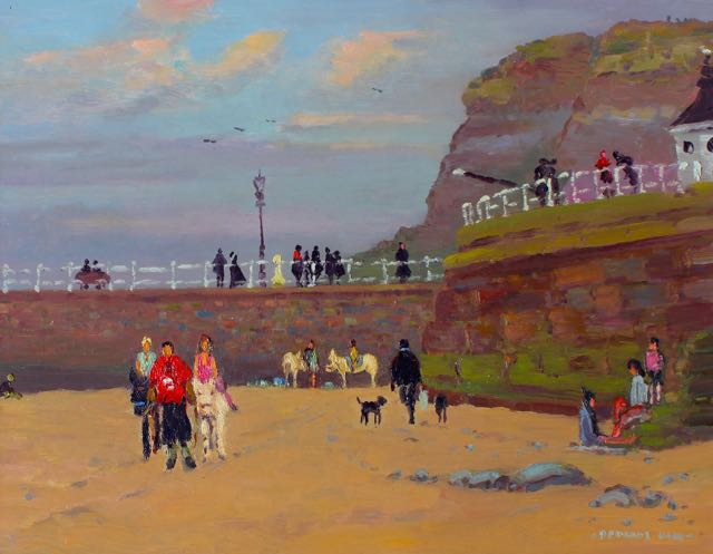 Goths and Donkeys, Whitby by Douglas Hill