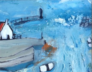 Harbour Waves, Staithes