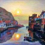 Hazy Morn, Staithes Beck by Mark Sofilas
