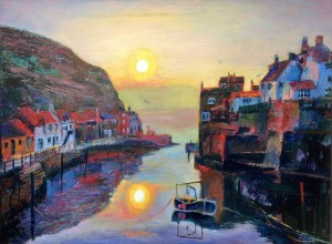 Hazy Morn, Staithes Beck