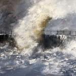 Heugh Breakwater, Hartlepool by Sue Nichol