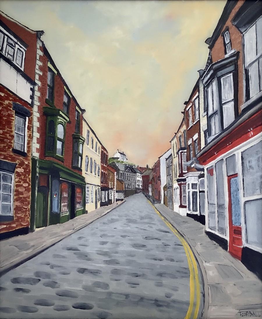 High Street, Staithes by Ian Burdall