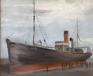 East Coast Shipwrecks: Honoria - 9th January 1901
