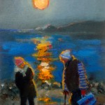 Moonlit Beach by Sue Atkinson
