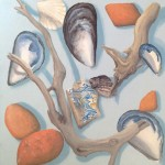 Beach Finds by Lucy Wilson
