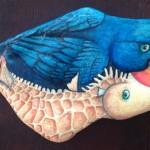 Rock Creature II by Lucy Wilson