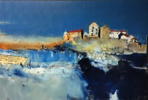 Incoming Tide, Staithes by Rob Shaw