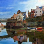 Inner Calm, Staithes II by Mark Sofilas
