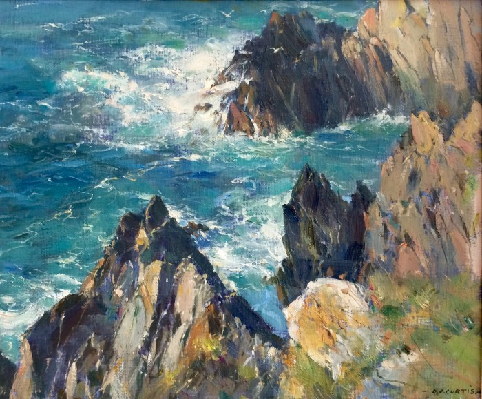 Jagged Rocks by David Curtis ROI RSMA