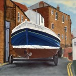 Lady J on the Road by Ian Burdall