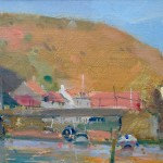 Late Sun, Roxby Beck by David Curtis